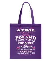 LOVE-POLAND-AND-APRIL Tote Bag thumbnail