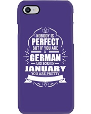 GERMAN-YOU-PERFECT-JANUARY Phone Case thumbnail