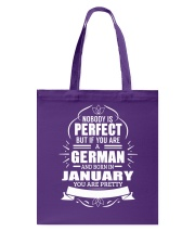 GERMAN-YOU-PERFECT-JANUARY Tote Bag thumbnail