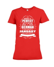 GERMAN-YOU-PERFECT-JANUARY Premium Fit Ladies Tee thumbnail