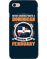 DOMINICAN-FEBRUARY-NEVER-UNDERESTIMATE Phone Case thumbnail