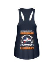 DOMINICAN-FEBRUARY-NEVER-UNDERESTIMATE Ladies Flowy Tank thumbnail