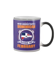 DOMINICAN-FEBRUARY-NEVER-UNDERESTIMATE Color Changing Mug thumbnail