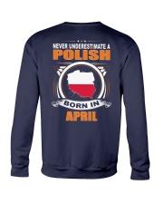 POLISH-APRIL-NEVER-UNDERESTIMATE Crewneck Sweatshirt thumbnail
