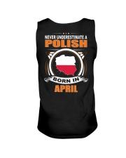 POLISH-APRIL-NEVER-UNDERESTIMATE Unisex Tank thumbnail