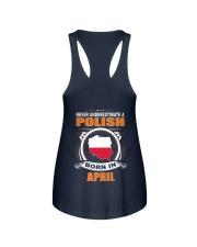 POLISH-APRIL-NEVER-UNDERESTIMATE Ladies Flowy Tank thumbnail