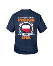 POLISH-APRIL-NEVER-UNDERESTIMATE Youth T-Shirt thumbnail