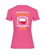 POLISH-APRIL-NEVER-UNDERESTIMATE Premium Fit Ladies Tee thumbnail