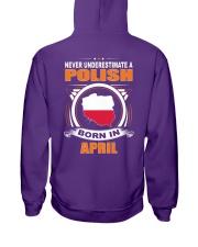 POLISH-APRIL-NEVER-UNDERESTIMATE Hooded Sweatshirt thumbnail