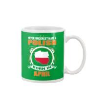 POLISH-APRIL-NEVER-UNDERESTIMATE Mug thumbnail