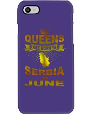 SERBIA-GOLD-QUEES-JUNE Phone Case thumbnail