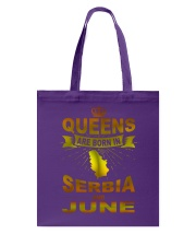 SERBIA-GOLD-QUEES-JUNE Tote Bag thumbnail