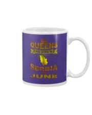SERBIA-GOLD-QUEES-JUNE Mug tile