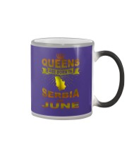 SERBIA-GOLD-QUEES-JUNE Color Changing Mug thumbnail
