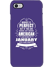 AMERICAN-YOU-PERFECT-JANUARY Phone Case thumbnail