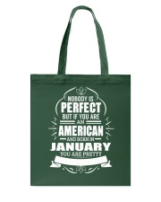 AMERICAN-YOU-PERFECT-JANUARY Tote Bag thumbnail