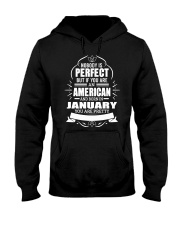 AMERICAN-YOU-PERFECT-JANUARY Hooded Sweatshirt front