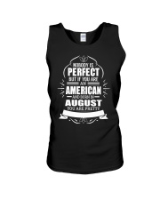 AMERICAN-YOU-PERFECT-AUGUST Unisex Tank thumbnail