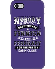FINNISH-FEBRUARY-WE-ARE-PERFECT Phone Case thumbnail