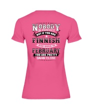FINNISH-FEBRUARY-WE-ARE-PERFECT Premium Fit Ladies Tee thumbnail