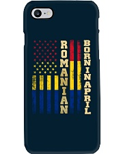 ROMANIAN-BORN-IN-APRIL-COOL Phone Case thumbnail