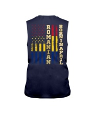 ROMANIAN-BORN-IN-APRIL-COOL Sleeveless Tee thumbnail