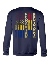 ROMANIAN-BORN-IN-APRIL-COOL Crewneck Sweatshirt thumbnail