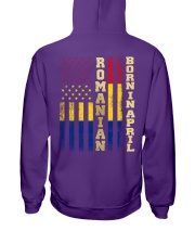 ROMANIAN-BORN-IN-APRIL-COOL Hooded Sweatshirt tile