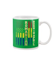 ROMANIAN-BORN-IN-APRIL-COOL Mug thumbnail