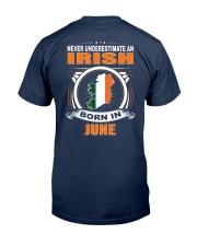 IRISH-JUNE-NEVER-UNDERESTIMATE Classic T-Shirt thumbnail