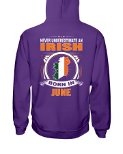 IRISH-JUNE-NEVER-UNDERESTIMATE Hooded Sweatshirt thumbnail