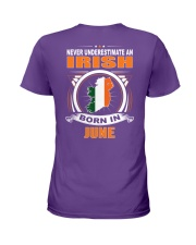 IRISH-JUNE-NEVER-UNDERESTIMATE Ladies T-Shirt thumbnail