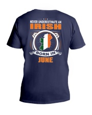 IRISH-JUNE-NEVER-UNDERESTIMATE V-Neck T-Shirt thumbnail