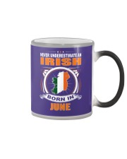 IRISH-JUNE-NEVER-UNDERESTIMATE Color Changing Mug thumbnail