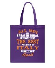 ITALY-April-MEN-BEST Tote Bag thumbnail