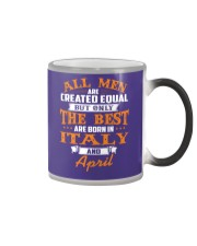 ITALY-April-MEN-BEST Color Changing Mug thumbnail