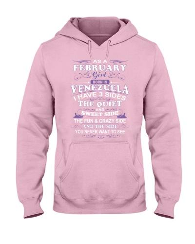 VENEZUELA-FEBRUARY-FUNNY-GIRL