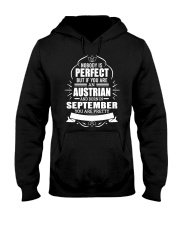 AUSTRIAN-YOU-PERFECT-SEPTEMBER Hooded Sweatshirt front