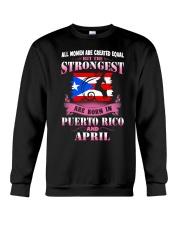 PUERTORICO-STRONG-WOMAN-APRIL Crewneck Sweatshirt thumbnail