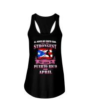 PUERTORICO-STRONG-WOMAN-APRIL Ladies Flowy Tank thumbnail