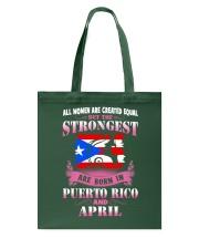 PUERTORICO-STRONG-WOMAN-APRIL Tote Bag thumbnail