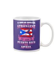 PUERTORICO-STRONG-WOMAN-APRIL Mug thumbnail