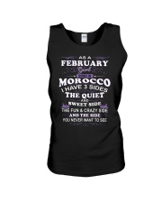MOROCCO-FEBRUARY-FUNNY-GIRL Unisex Tank thumbnail