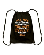ITALY-May-MEN-BEST Drawstring Bag thumbnail