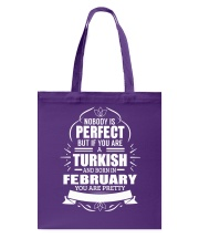 TURKISH-YOU-PERFECT-FEBRUARY Tote Bag tile