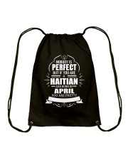 HAITIAN-YOU-PERFECT-APRIL Drawstring Bag thumbnail