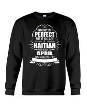 HAITIAN-YOU-PERFECT-APRIL Crewneck Sweatshirt thumbnail