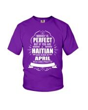 HAITIAN-YOU-PERFECT-APRIL Youth T-Shirt thumbnail