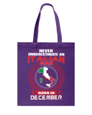 ITALIAN-COOL-MAN-DECEMBER Tote Bag thumbnail