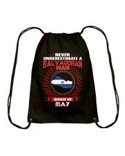 SALVADORAN-COOL-MAN-MAY Drawstring Bag thumbnail
